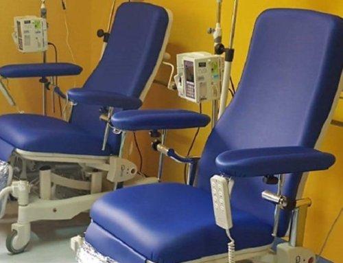 Ancos Confartigianato Rieti dona due poltrone oncologiche all'Ospedale di Rieti