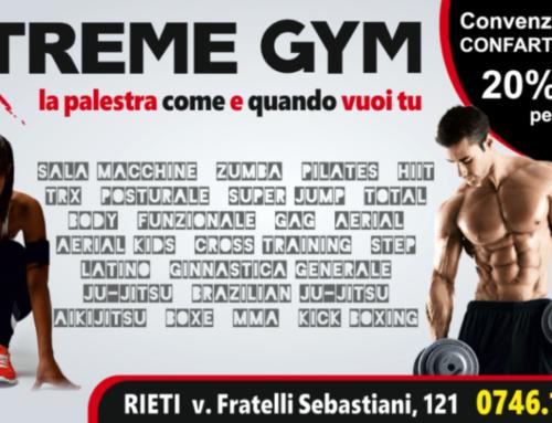 Nuova convenzione con Xtreme Gym