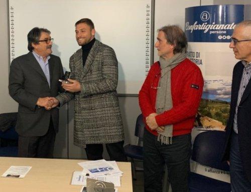 """Confartigianato e """"Vincere Insieme"""" premiano Federico Dionisi e Achille Fiori"""