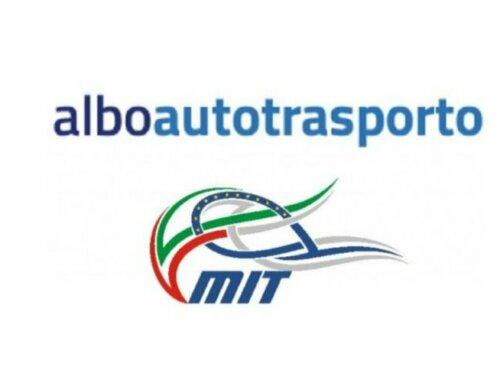 Albo Autotrasporto: apertura pagamenti quote 2022